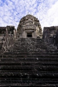 14012545-steps-leading-up-one-of-angkor-wat-tower-siem-reap-cambodia