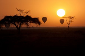 Hot-Air-Balloons-flying-over-Serengeti-Tanzania-at-Sunrise1