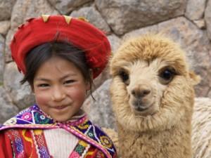 peru_llama_girl1
